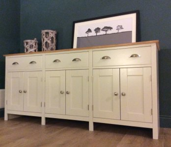 6ft shabby chic sideboard nest at number 20. Black Bedroom Furniture Sets. Home Design Ideas