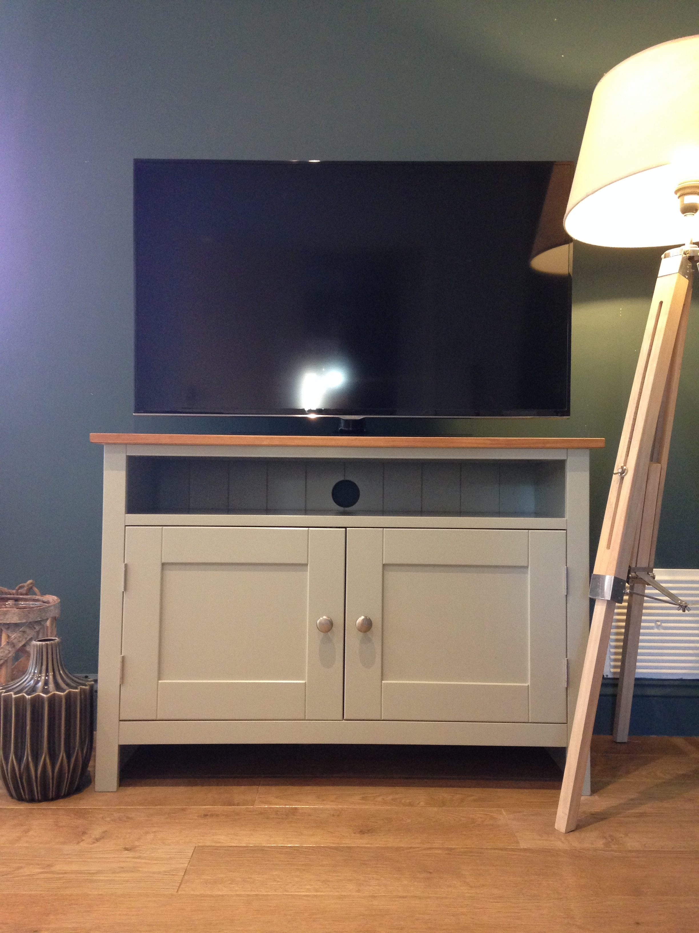 Painted TV Cabinet | TV Media Units | Solid Pine TV Cabinet ...