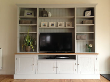 This huge multi functional unit is super popular right now. Having the look of a welsh dresser but at the same time neatly & symetrically housing the TV. title=TV CABINETS/DRESSER